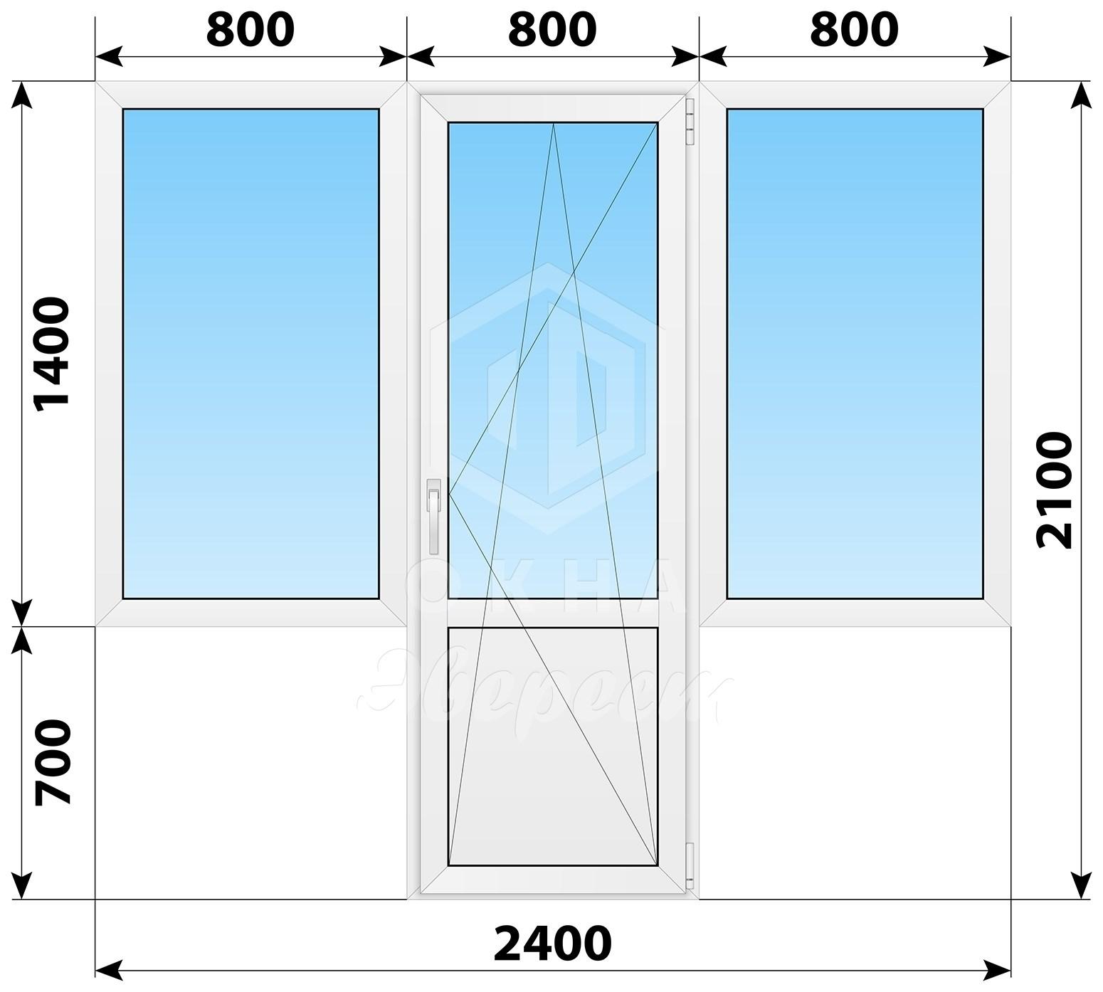 купить балконный блок